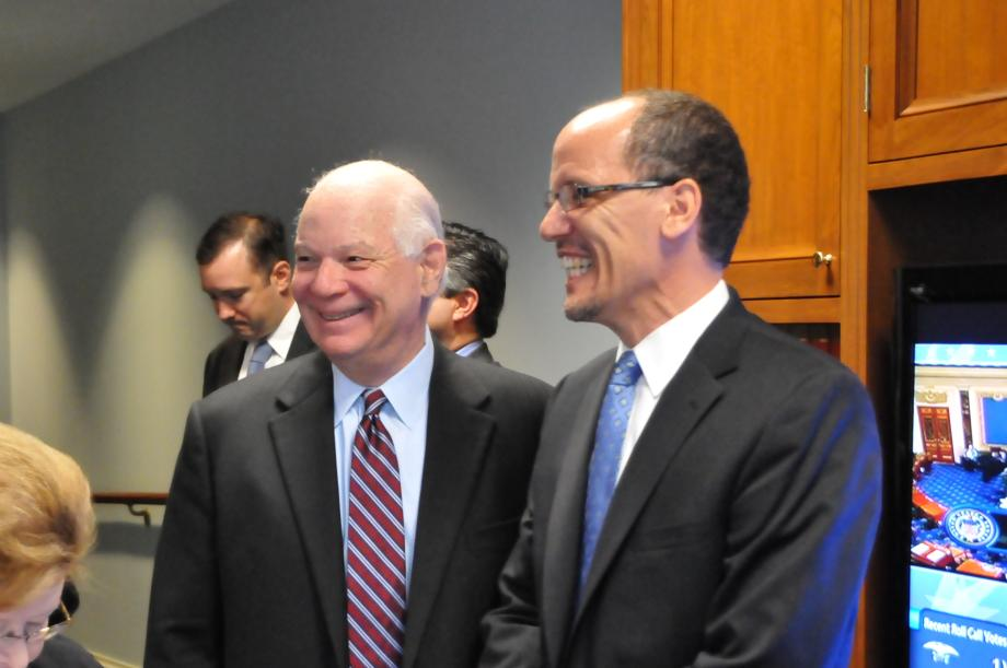 Sen. Cardin and Mr. Perez